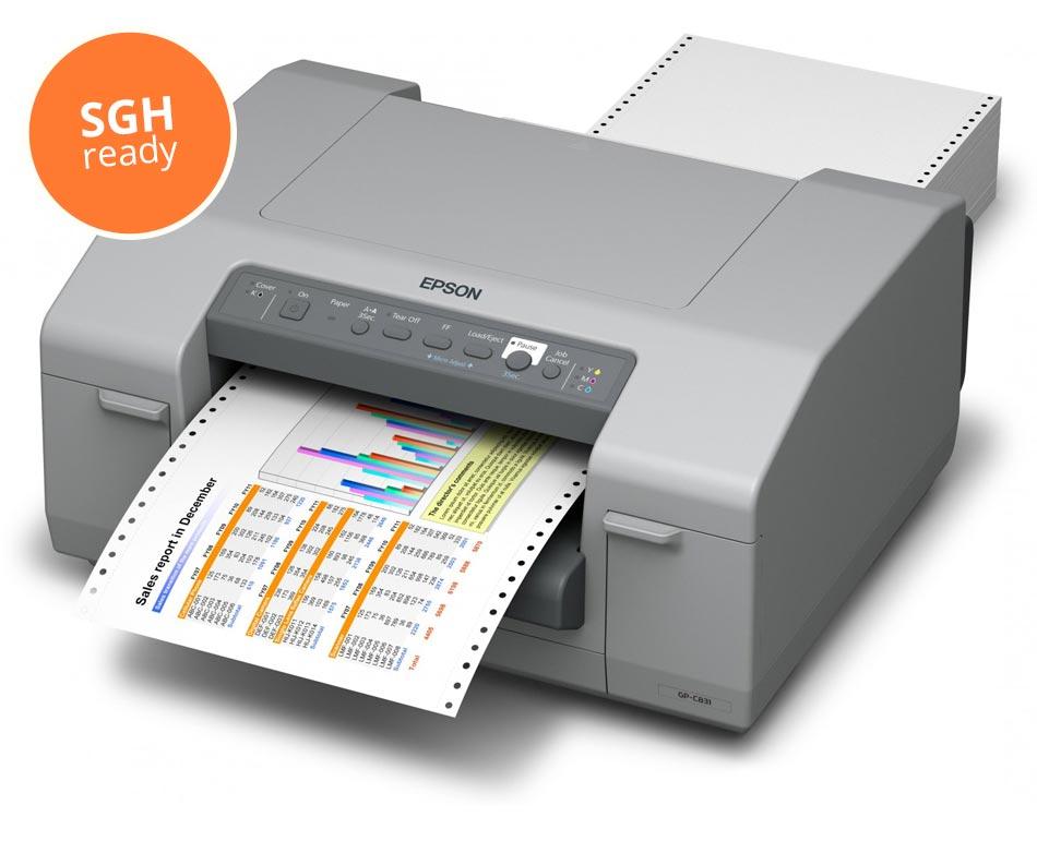 EPSON ColorWorks C831 - SGH